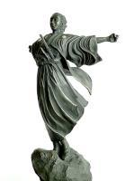 銅製 坂本龍馬像 (高岡銅器)
