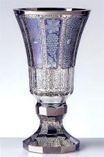 ボヘミアガラス - ラスカ モドレー