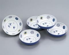 九谷焼 - 食器 - 皿揃・鉢揃