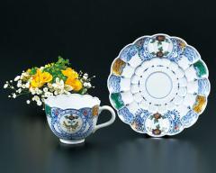 九谷焼 - 食器 - コーヒー碗皿