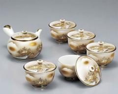 九谷焼 - 茶器 -  茶器揃