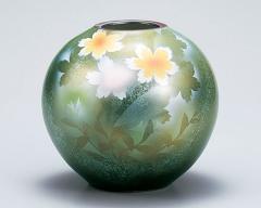 九谷焼 - 花瓶 - 8号 〜 9号