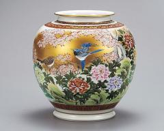 九谷焼 - 花瓶 - 10号以上