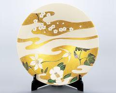 九谷焼 - 飾皿