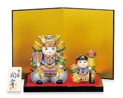 端午の節句 - 五月人形 - 九谷焼