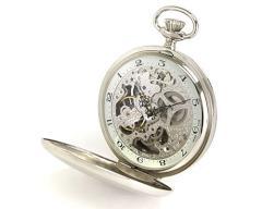 父の日特集 - 懐中時計、銀製ヨット置物