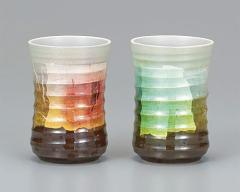 九谷焼 - 日本を代表する伝統工芸品 - ペア・フリーカップ 2