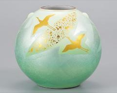 九谷焼 - 日本を代表する伝統工芸品 - 花瓶 7号