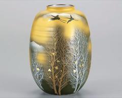 九谷焼 - 日本を代表する伝統工芸品 - ナツメ型花瓶