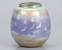 九谷焼 - 日本を代表する伝統工芸品 - 花瓶8号