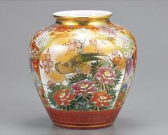 九谷焼 - 日本を代表する伝統工芸品 - 花瓶8号 2