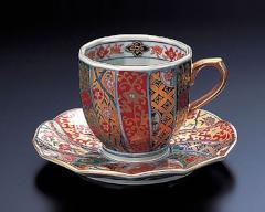 敬老の日の贈り物 - 有田焼 - 珈琲碗皿