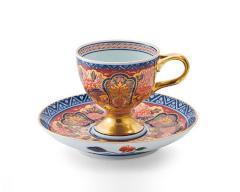 敬老の日の贈り物 - 有田焼 - 珈琲碗皿 2