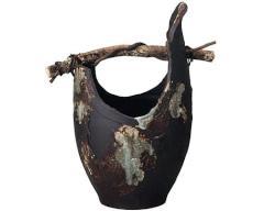 信楽焼 - 花瓶 - 手・つる型