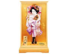 羽子板 ケース飾り - お正月特集 - 2013