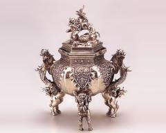 香炉 - 癒しと高い芸術性 - 高岡銅器 - 1