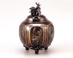 香炉 - 癒しと高い芸術性 - 高岡銅器 - 2