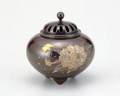 香炉 - 癒しと高い芸術性 - 高岡銅器 - 3