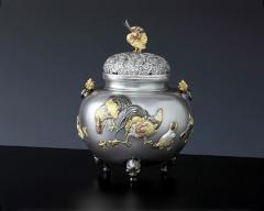 香炉 - 癒しと高い芸術性 - 銀製香炉・純金製香炉