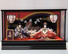 桃の節句に ひな人形 親王飾 (1) - 2013年