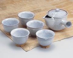 萩焼 - 日本の伝統工芸 - 茶器 - 茶器揃