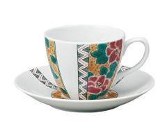 九谷焼 - 陶磁器工芸品 - カップ&ソーサー