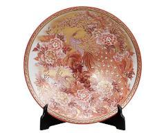 九谷焼 - 陶磁器工芸品 - 飾皿 2
