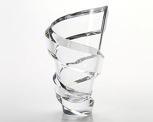 バカラ スパイラル ベース(花瓶) 27cm