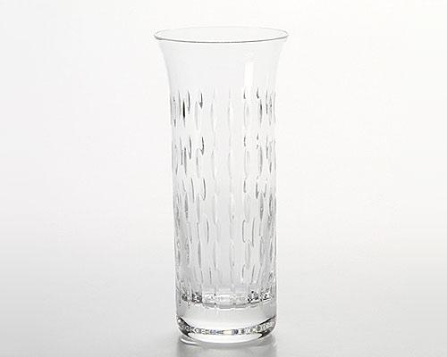 バカラ ダークサイド フローラ グレイン ベース(花瓶) 18cm
