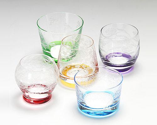 ボヘミアガラス ラスカ SAKE(フリーカップ) 5客セット