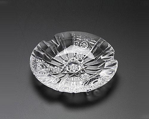 ボヘミアガラス PK500a ミニアッシュトレイ 9cm