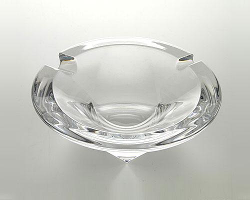 ボヘミアガラス トライアングル アッシュトレイ
