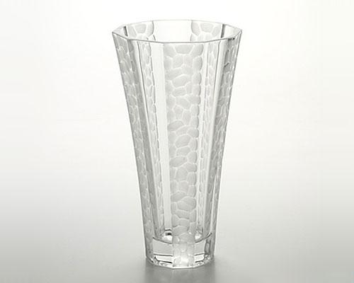 ボヘミアガラス ボストン グレイ ベース