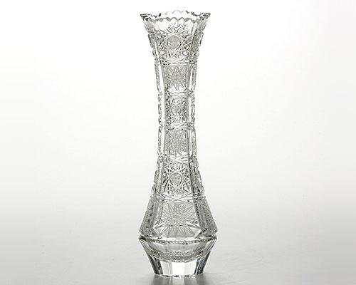ボヘミアガラス PK500/88350 ベース(花瓶) 21cm