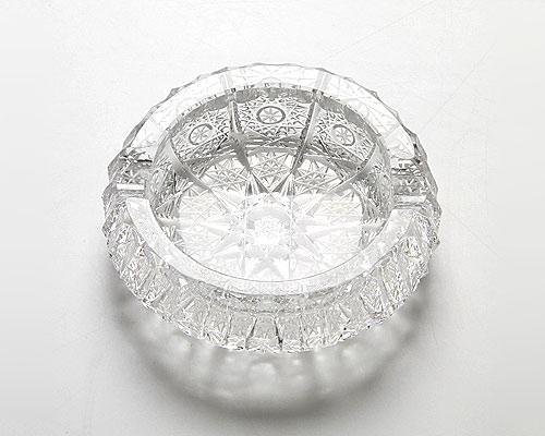 ボヘミアガラス PK500a アッシュトレイ 7.8cm
