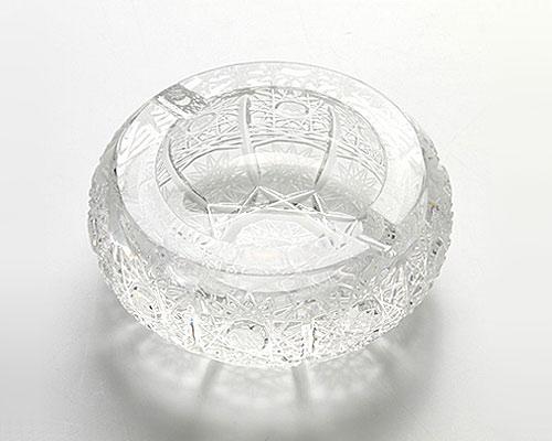 ボヘミアガラス PK500a アッシュトレイ 10cm