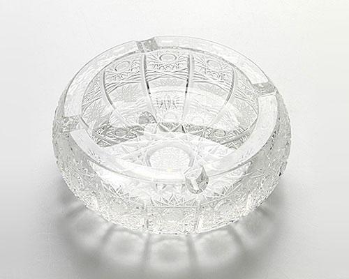 ボヘミアガラス PK500a アッシュトレイ 13cm