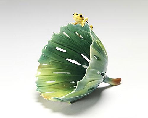 フランツ・コレクション 熱帯の小さな住人 カエル ボウル