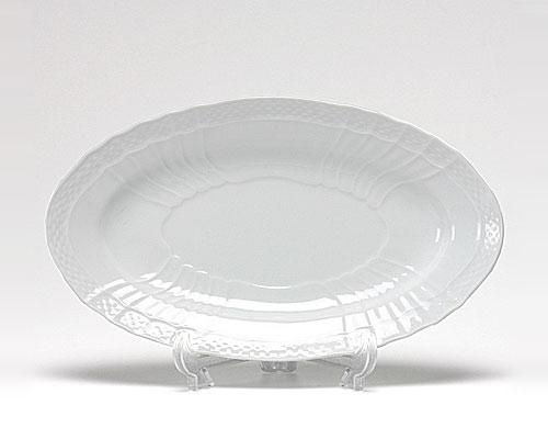 リチャードジノリ ベッキオホワイト ピクルス(オーバル) 23cm