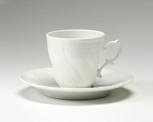 リチャードジノリ ベッキオホワイト コーヒーカップ&ソーサー