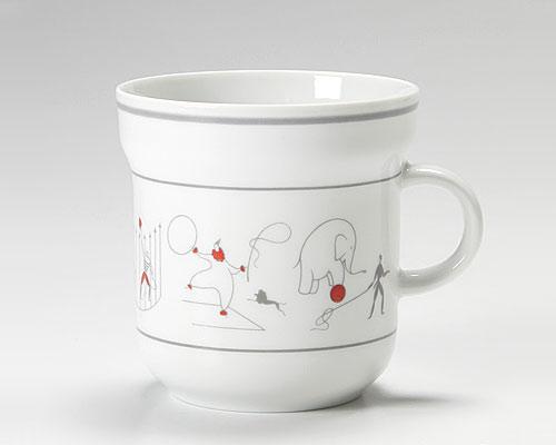 リチャードジノリ ジオ・ポンティ マグカップ サーカス(グレイ)