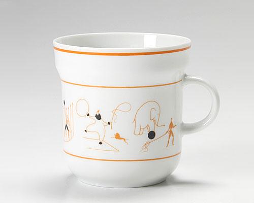 リチャードジノリ ジオ・ポンティ マグカップ サーカス(オレンジ)
