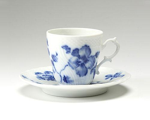 リチャードジノリ ローズブルー コーヒーカップ&ソーサー