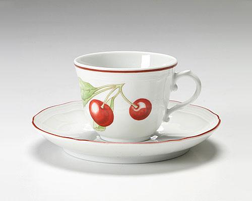 リチャードジノリ アンティコチェリー コーヒーカップ&ソーサー