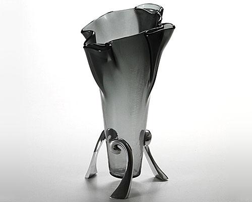 グラシアス ポエム POE-040 fume ベース(花瓶)