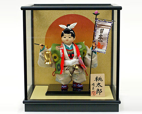 五月人形 武者人形 子供大将 ケース 5号