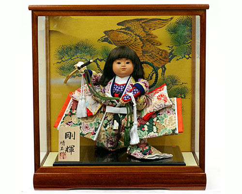 五月人形 武者人形 子供大将 ケース 6号