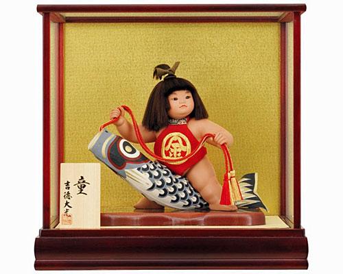 五月人形 武者人形 子供大将 吉徳大光 6号