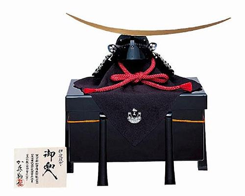 五月人形 兜飾り 加藤鞆美作 伊達政宗 1/2 兜のみ