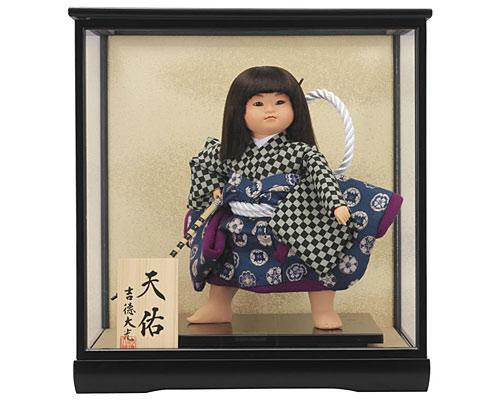 五月人形 武者人形飾り 吉徳大光 武者人形6号 「天佑」